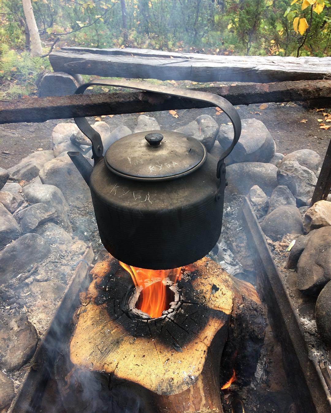 Турбо-печь, финская свеча